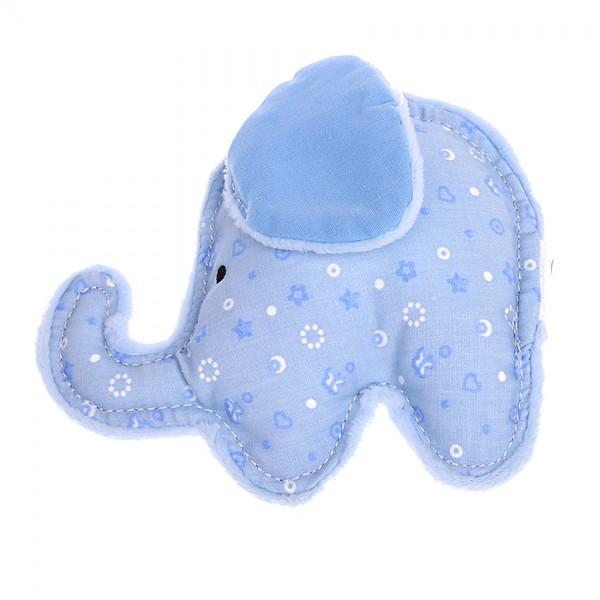 Rassel-Greifling Elefant blau