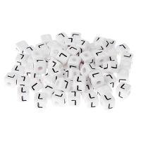 Buchstabenwürfel Kunststoff nach Wahl