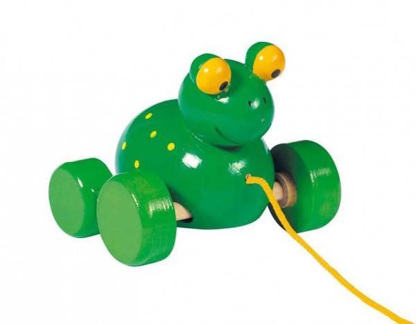 Ziehtier Frosch