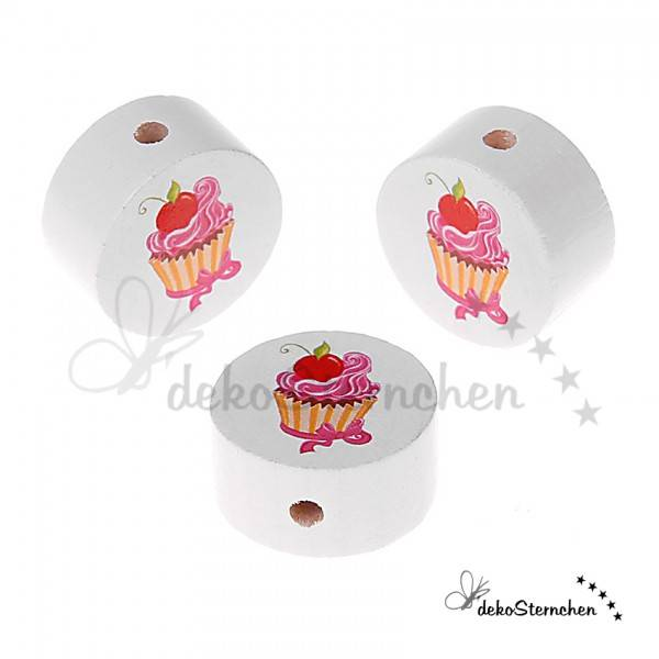 Motivperle Cupcake