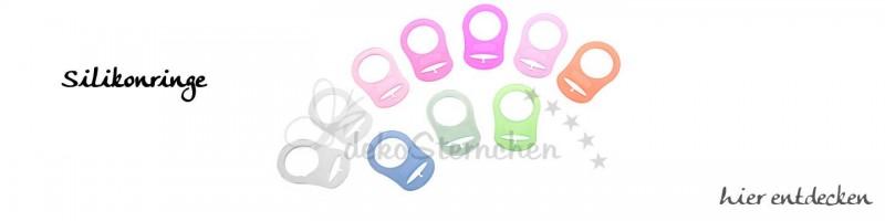 Silikonringe für Schnullerketten online kaufen.