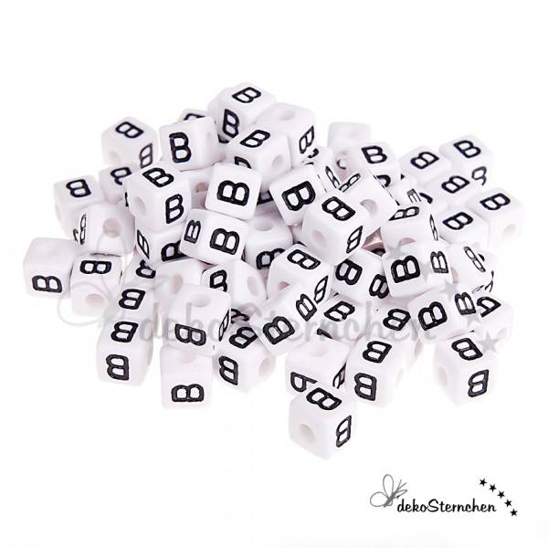 Buchstabenwürfel Kunststoff 0,5 kg 580 Stück nach Wahl