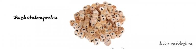 Buchstabenwürfel, Zahlenwürfel, Herzen für Schnullerketten online kaufen.