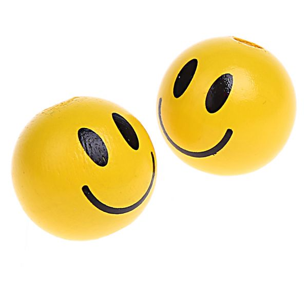 Motivperle Smiley