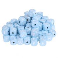 Buchstabenwürfel blau