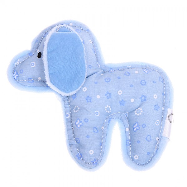 Rassel-Greifling Hund blau