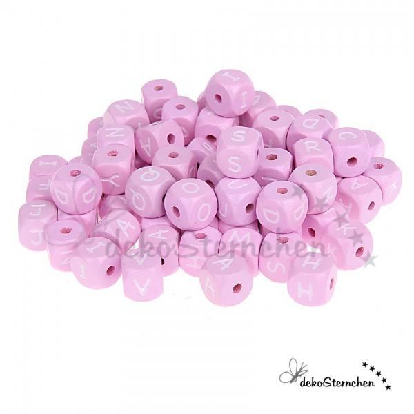 Buchstabenwürfel rosa