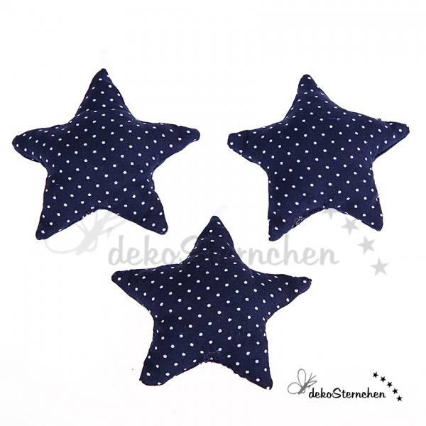 Stoffstern dunkelblau (KA01)
