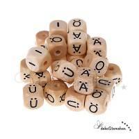 Buchstabenwürfel natur türkisch