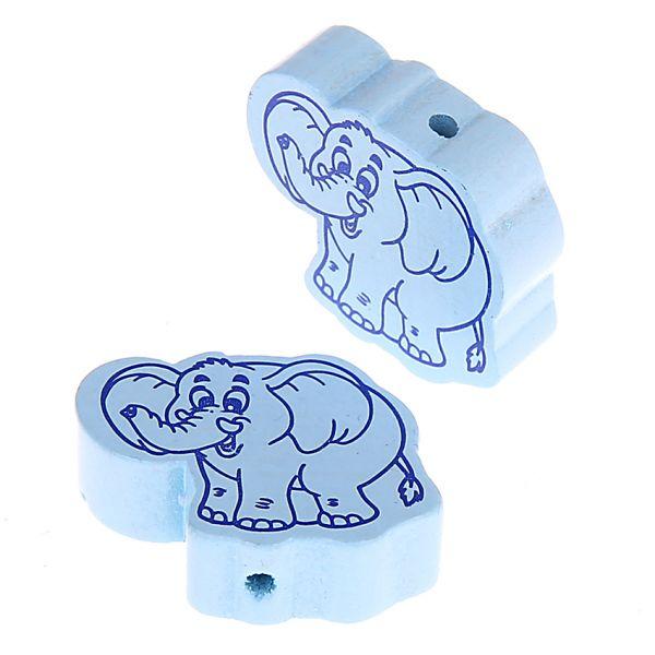 Motivperle Elefant 100 Stück