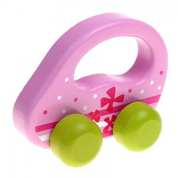 Greifling Auto rosa/grün