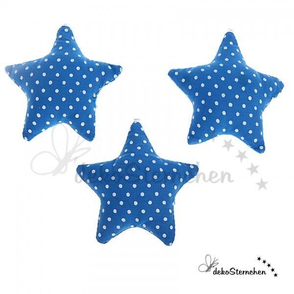 Stoffstern blau (K03)
