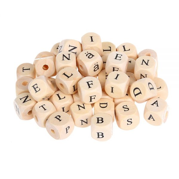Buchstabenwürfel 11x11 mm 300 Stück