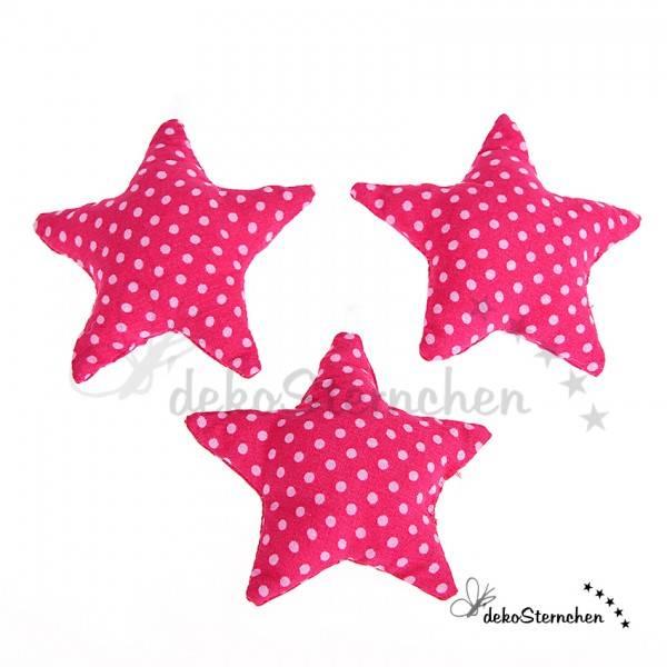 Stoffstern pink (KA05)